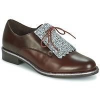 Chaussures Femme Derbies André FATOU Marron