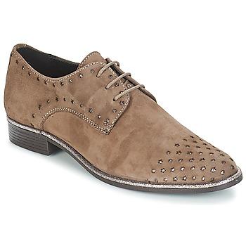 Chaussures Femme Derbies André TWIN Beige