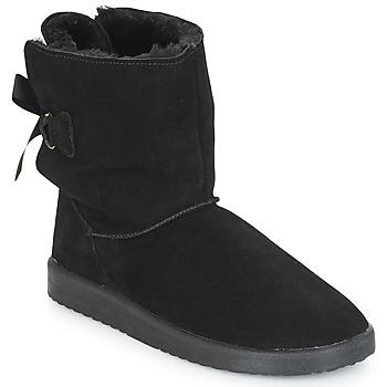 Schuhe Damen Boots André TOUDOU Schwarz