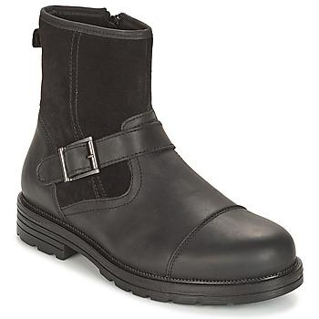 Chaussures Homme Boots André CAVALIER Noir