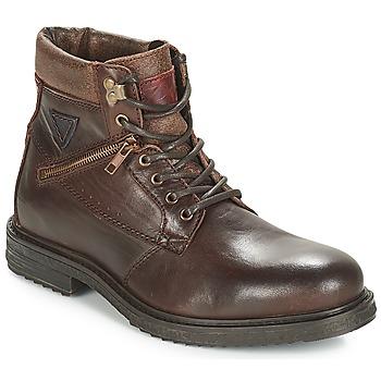 Schuhe Herren Boots André MORRO Braun,