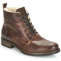 Chaussures Homme Boots André MONTAGNARD Marron