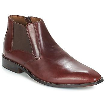 Schuhe Herren Boots André FLORIAN Braun,