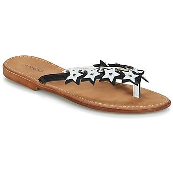 Schuhe Damen Sandalen / Sandaletten André TAM TAM Schwarz
