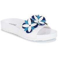 Schuhe Damen Pantoffel André GARDENIA Blau