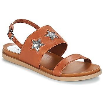 Chaussures Femme Sandales et Nu-pieds André TAIGA Camel
