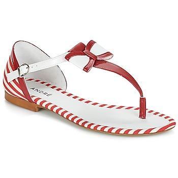 Chaussures Femme Sandales et Nu-pieds André DORINE Rouge