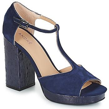 Chaussures Femme Sandales et Nu-pieds André TORRIDE Marine
