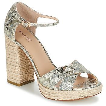 Chaussures Femme Sandales et Nu-pieds André TAPAGEUSE Beige