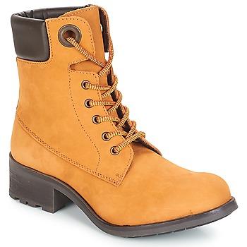 Schuhe Damen Boots André MEIJE Camel
