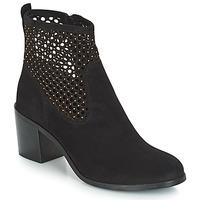 Chaussures Femme Bottines André TOTEM Noir
