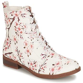 Schuhe Damen Boots André PILAT Weiss