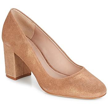Chaussures Femme Escarpins André PENSIVE Bronze