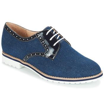 Schuhe Damen Derby-Schuhe André DERIVEUR Marine