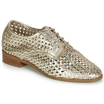 Schuhe Damen Derby-Schuhe André TRANSAT Goldfarben