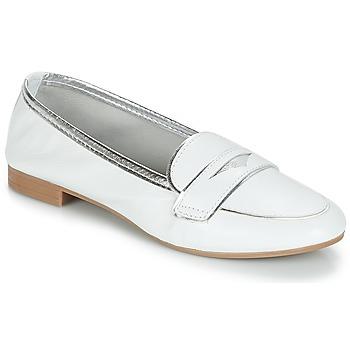Chaussures Femme Mocassins André CLOCHETTE Blanc