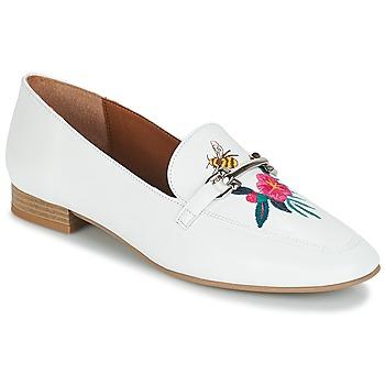 Schuhe Damen Slipper André HENSON Weiß
