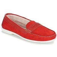 Schuhe Damen Slipper André FRIOULA Rot
