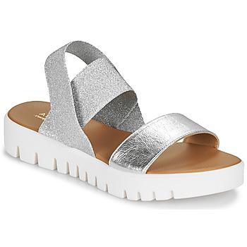 Schuhe Damen Sandalen / Sandaletten André EMY Silbrig