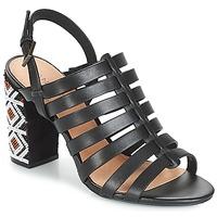 Chaussures Femme Sandales et Nu-pieds André DJEMBE Camel