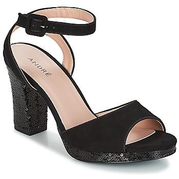 Chaussures Femme Sandales et Nu-pieds André FESTIVE Noir