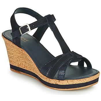 Schuhe Damen Sandalen / Sandaletten André ALOE Marine