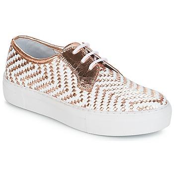 Chaussures Femme Baskets basses André NAT Or