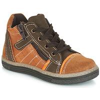 Schuhe Jungen Sneaker High Citrouille et Compagnie JESSICA Kamel
