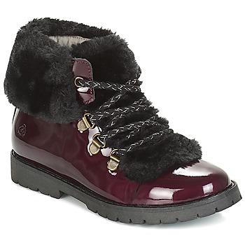 Chaussures Fille Boots Citrouille et Compagnie JYTTER Bordeau vernis