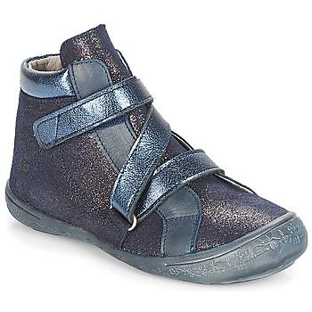 Scarpe Bambina Sneakers alte Citrouille et Compagnie HISSOU Blu