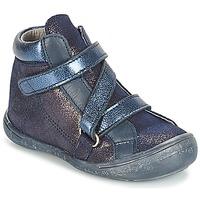 Chaussures Fille Boots Citrouille et Compagnie HISSOU Bleu