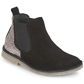 Schuhe Mädchen Boots Citrouille et Compagnie FIGOULI Glitzer