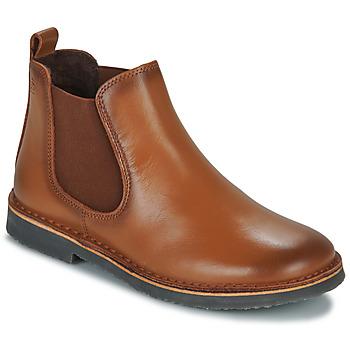 Schuhe Kinder Boots Citrouille et Compagnie JOVETTE Kamel
