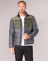 Vêtements Homme Doudounes Emporio Armani EA7 MOUNTAIN M MEDIUM TRITONAL JACKET Noir / Kaki