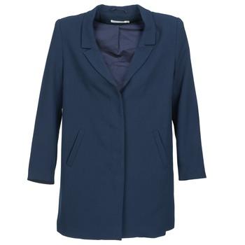 Vêtements Femme Manteaux See U Soon CARINA Marine