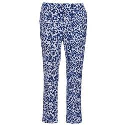 Vêtements Femme Pantalons fluides / Sarouels See U Soon CLARA Bleu / Noir
