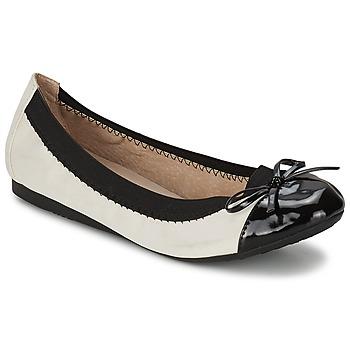 Schuhe Damen Ballerinas Moony Mood ELALA Weiß