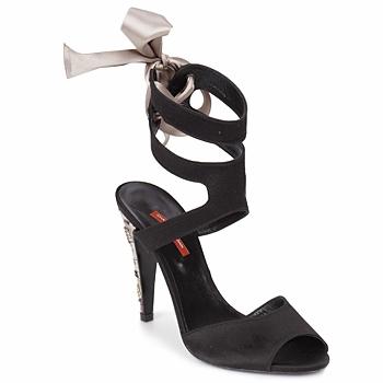Schuhe Damen Sandalen / Sandaletten Charles Jourdan MADNESS Schwarz