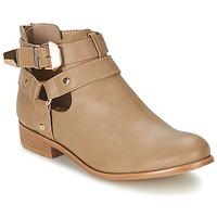 Schuhe Damen Boots Moony Mood BEZAH Beige
