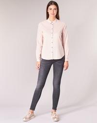 Kleidung Damen 5-Pocket-Hosen Maison Scotch LA BOHEMIENNE Schwarz