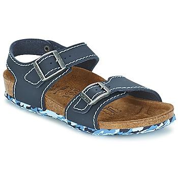 Schuhe Mädchen Sandalen / Sandaletten Birki's NEW YORK Blau