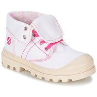 Schuhe Mädchen Boots Citrouille et Compagnie BASTINI Weiß