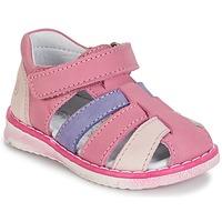Schuhe Mädchen Sandalen / Sandaletten Citrouille et Compagnie FRINOUI Flieder