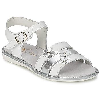 Schuhe Mädchen Sandalen / Sandaletten Citrouille et Compagnie KATAGUE Weiß