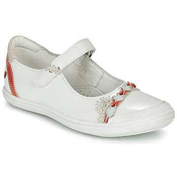 Schuhe Mädchen Ballerinas GBB MARION Weiss