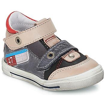 Schuhe Jungen Sandalen / Sandaletten GBB PEPINO Grau-jeans / Dpf / Schwarz / weiss / gold