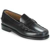 Chaussures Homme Mocassins Sebago CLASSIC PENNY BRUSHED Noir