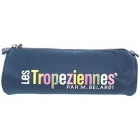 Sacs Trousses Les Tropéziennes par M Belarbi Trousse Les Tropeziennes ref_trop43789 Bleu 22*7 bleu