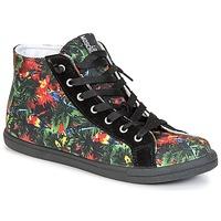 Chaussures Femme Baskets montantes Love Moschino JA15132G0KJE0000 Noir / Multicolore