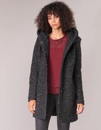 Vêtements Femme Manteaux Only ONLSEDONA Noir